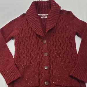 Anthropologie Isabella Sinclair Knit Cardigan